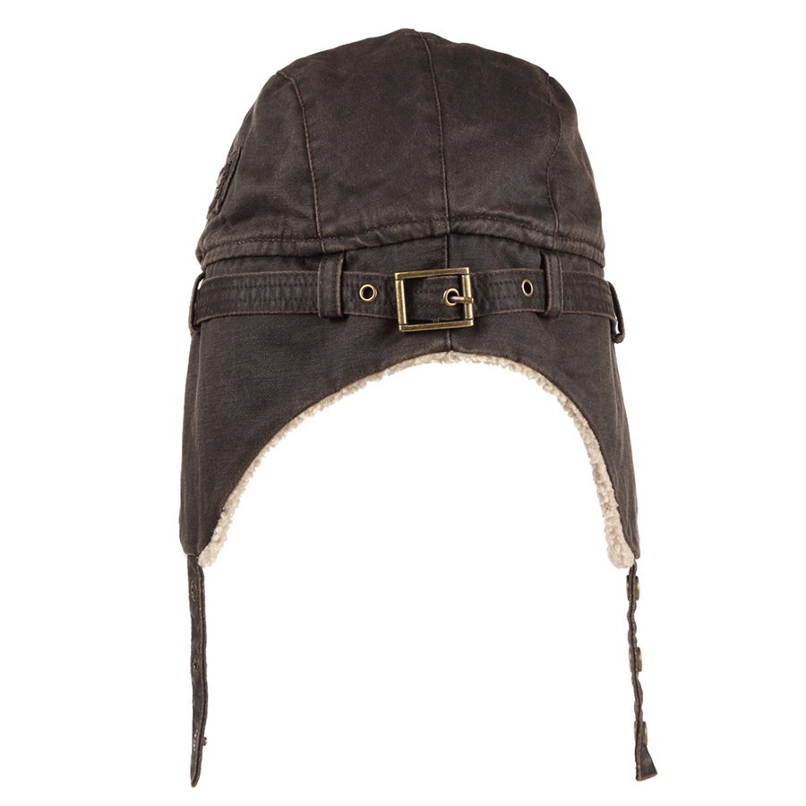 ffc4f76f87f BKONE Bomber Hat Best Pilot Trooper Aviator Cap Faux Leather Hat Ushanka  Trapper Winter Earflap Ushanka for Army Military Soldie-in Bomber Hats from  Apparel ...