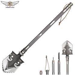 Всемогущий Орел Professional Открытый выживания тактический Multi al раскладная Лопата инструменты сад туристическое снаряжение Армии Инструмент