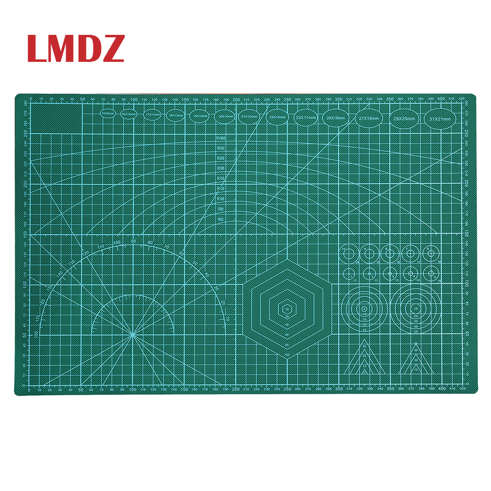 LMDZ A3 Cutting Mat Self-healing Cut Pad Patchwork Tools Manual DIY Tool Cutting Board Lasting Thick Non-Slip 18