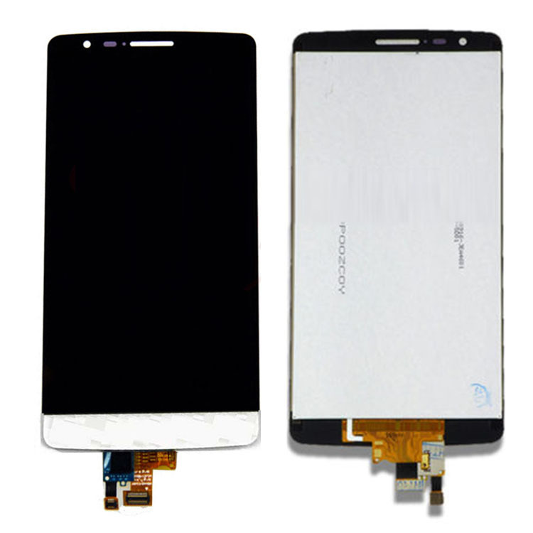 ФОТО White LCD Screen Digitizer Touch Assembly Replacement High Quality For LG G3 Mini S D722 D725 D724