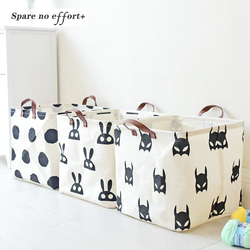 Laundry Basket Baby Toys Basket  Storage Basket For Dirty Clothes Folding Basket For Baby Toys Tools Home Organizer