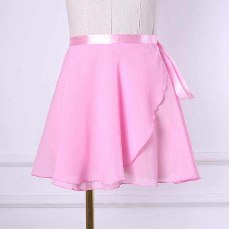 9 видов цветов шифоновая балетная юбка-пачка для танцев Женская гимнастическая шифоновая балетная юбка-пачка для танцев платье скейт шарф