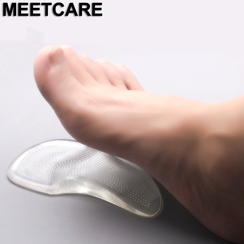 1 Pair New Flatfoot Silicone Insole Within Eight Toe Foot Orthotic Varus Correct Shoes Insole Xo Type Legs Orthotic Shoes Pad More Discounts Surprises Insoles