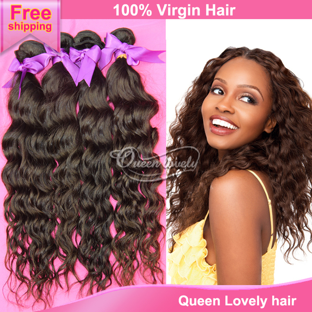 Cambodian Water Wave Virgin Hair Extension Queen Hair Products 100