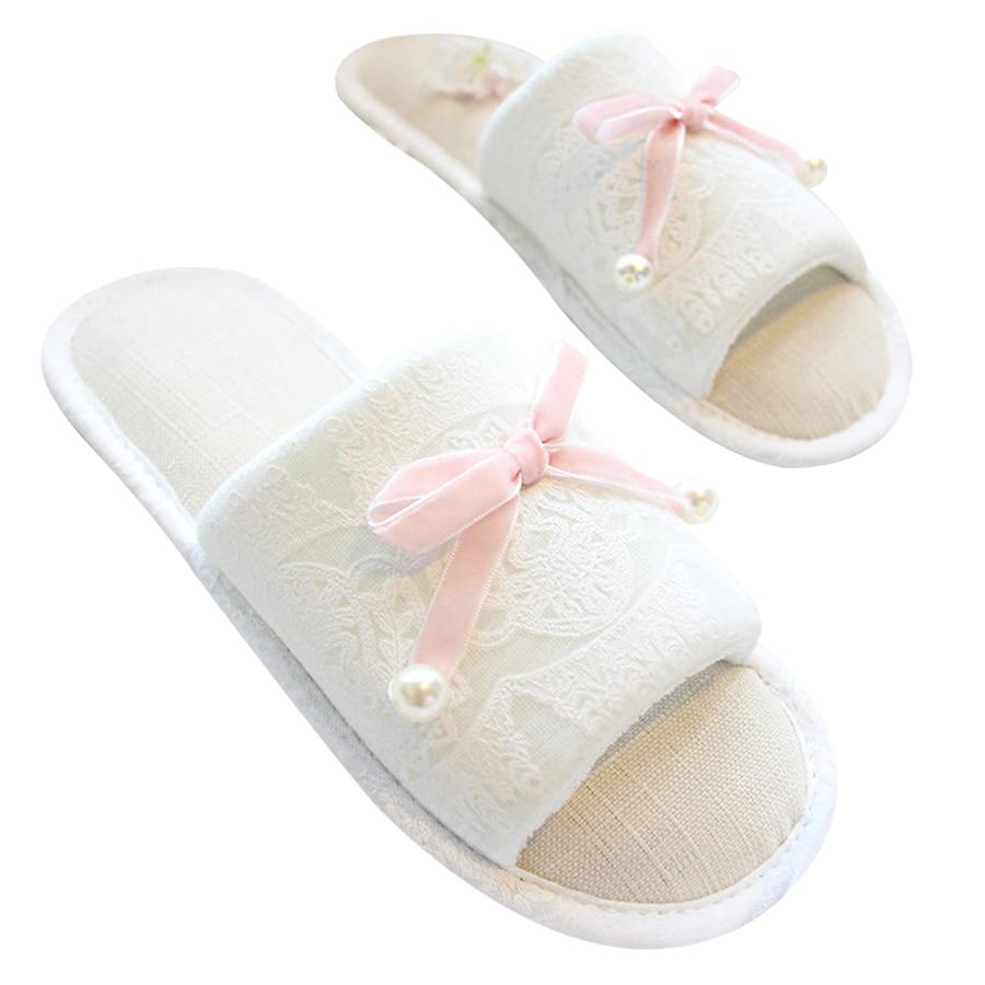 Summer Home Slippers Women Bedroom Home Slippers Elegant