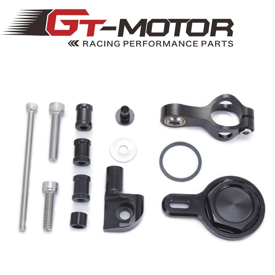 GT мотор - Ямаха Р1 1998-2005 мотоциклами регулируемой рулевой демпфер стабилизировать Кронштейн Крепление набор аксессуаров