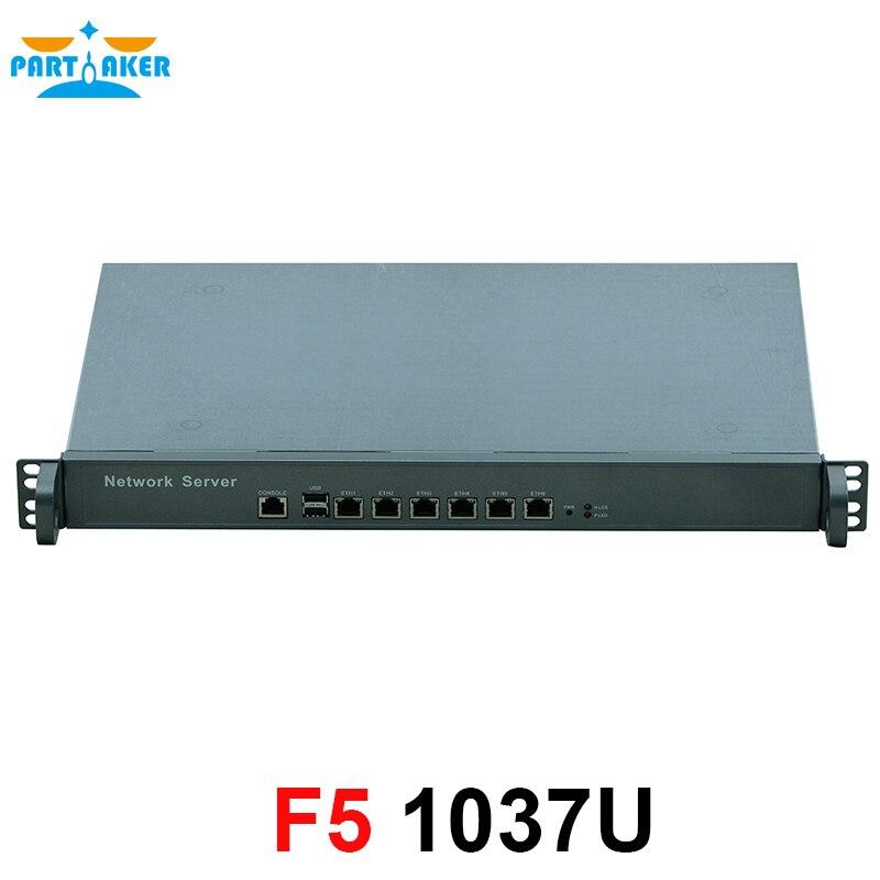 6 Gigabit Ethernet nic 82583v Network software routing 1U network server rack case supports 1037U CPU deepankar medhi network routing