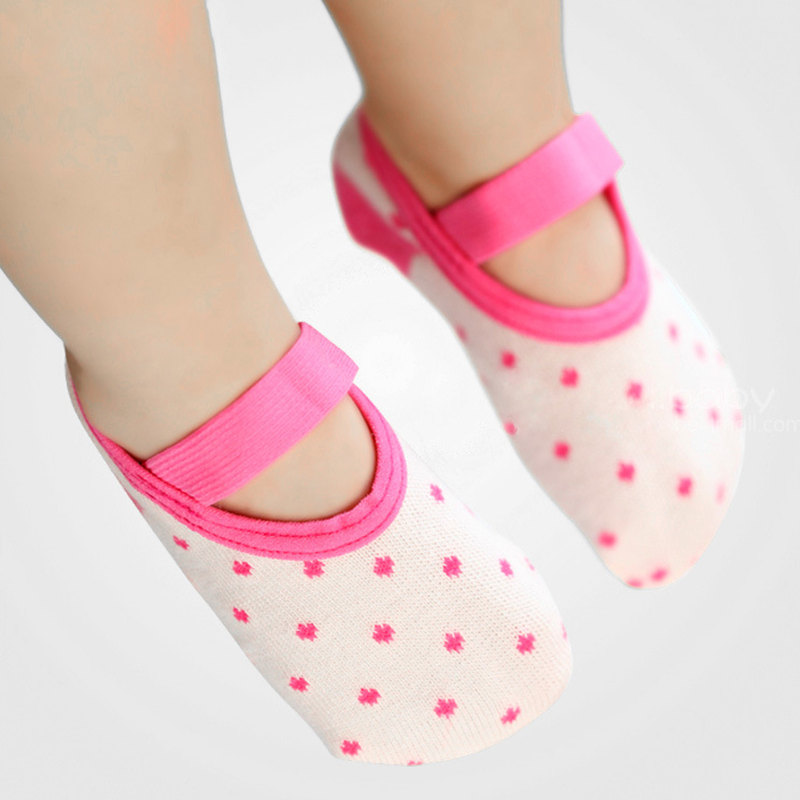 Baby Shoes 2018 Spring Anti-off Floor Socks Cute Baby Shallow Socks Toddler Shoes For Girls Boys First Walkers Newborn Shoes Free Shipping