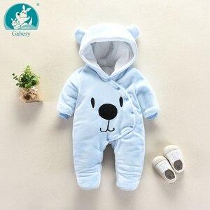 Image 2 - דוב אוזן סלעית חדש נולד תינוק Rompers לתינוקות בני בנות בגדי יילוד בגדי מותגים סרבל תינוקות תלבושות תינוק תלבושת