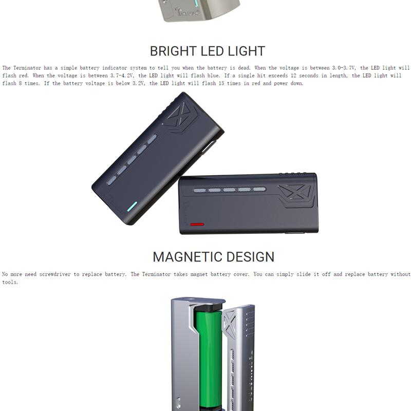 tesla Termiantor kit-3