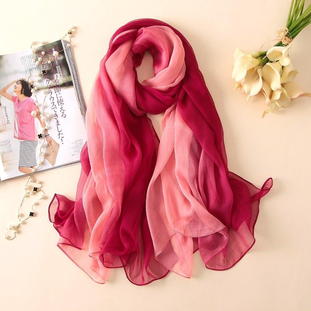 2018 летний женский шарф мода мягкий - Аксессуары для одежды - Фотография 4