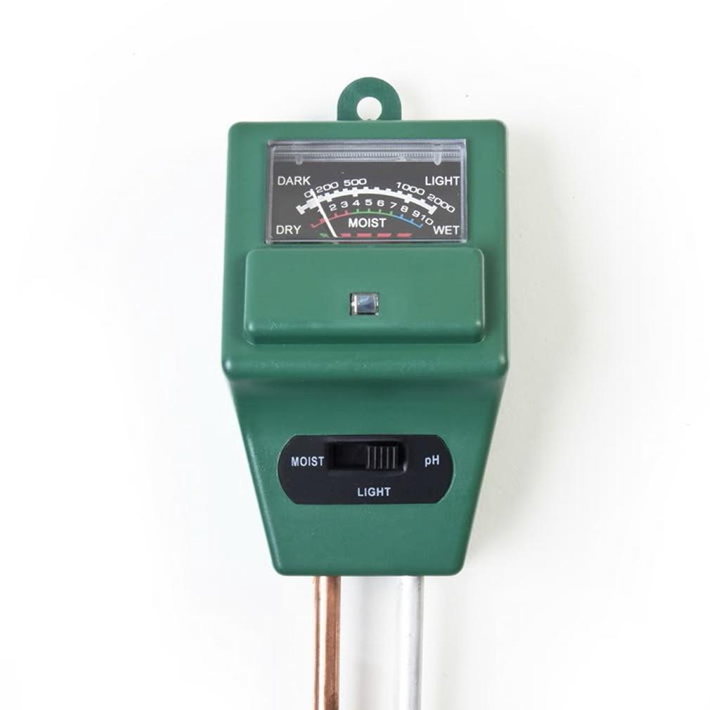 3 In 1 PH Tester Soil Water Moisture Light Test Meter Sensor For Garden Plant Flower Soil Detector