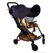 Новинка 99% УФ UVB солнцезащитный козырек для детской коляски коляска и автокресла