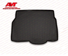 Trunk mats for Opel Astra H 3D 2004- hatchback 1 pcs rubber rugs non slip rubber interior car styling accessories