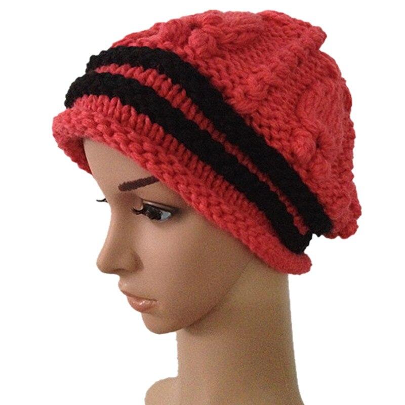 BomHCS hiver chaud laine chapeau à la main de mode en tricot en plein air  bonnet ski cap112   2184fdf7167