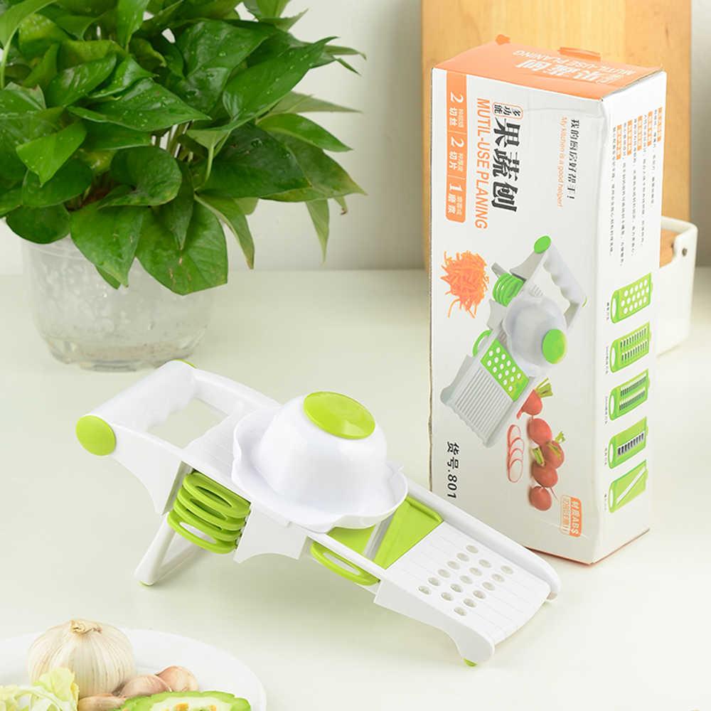 Lâminas de Cortador De Legumes com 5 Sowoll Multi-função Vegetal Slicer Raladores de Cozinha para Cozinhar A Cebola Cenoura Batata Faca Ferramenta