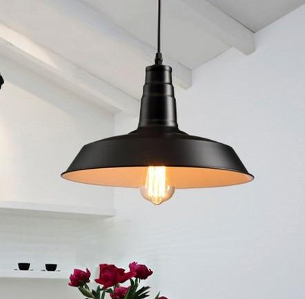 American Loft Iron Art Závěsná svítidla Jednoduchá průmyslová Vintage Osvětlení pro Obývací Jídelna Bar Závěsné Svítidlo