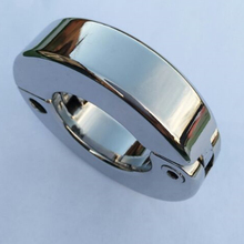 Top Stainless Steel Scrotum Pendant Penis Bondage Ring Chastity Cage Chastity Devices Restraint Pendant Scrotum Cock Ring B2-64