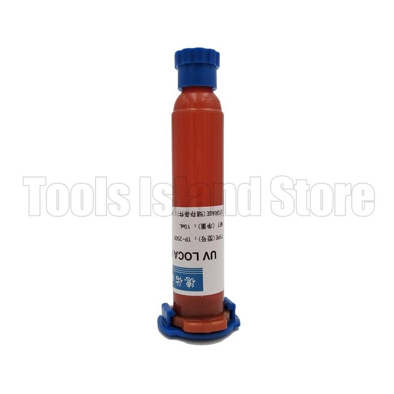 10ML UV Glue tp 2500 LOCA Liquid Optical Clear Adhesive For Repair Cellphone for touch screen
