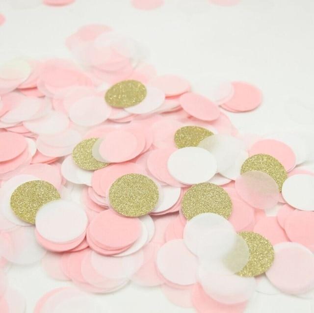 4000pcs 1 inch baby shower gender reveal wedding confetti balloon decoration bridal shower