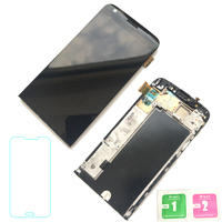 FIX2SAILING 100 Tested Working LCD Display Touch Screen Digitizer Frame Replacement Panel Full For LG G5