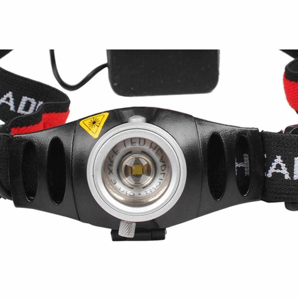 Новый 500 люмен регулируемым фокусом Q5 светодиодный Водонепроницаемый налобный фонарь дизайнерская мода для дома на открытом воздухе