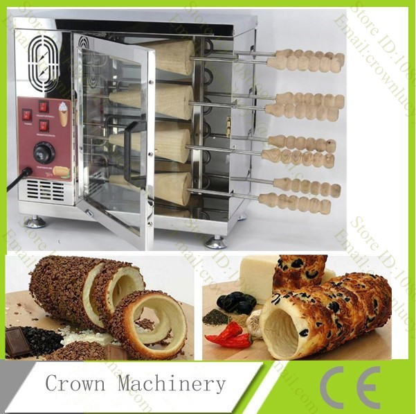 Chimney cake donut bakery machine Kurtos Kalacs Maker Oven Machine