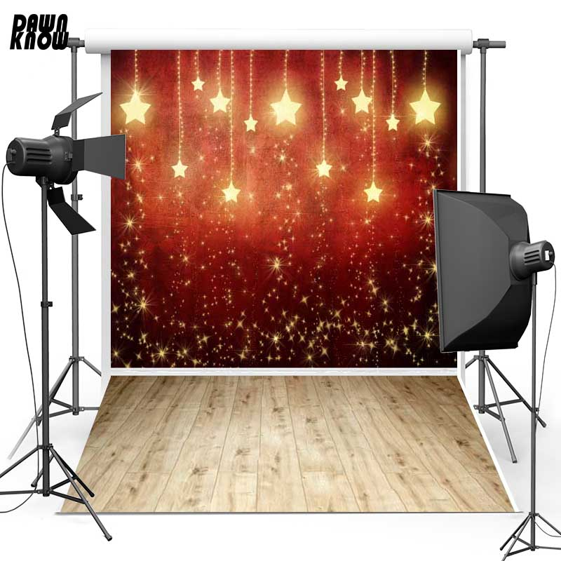 Space Moon Vinyl Photography Background For Newborn Wood Floor New Fabric Flanne