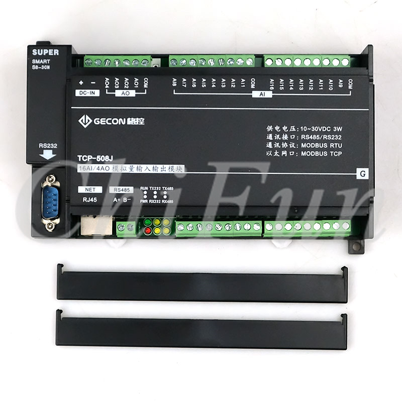 Image 3 - 16AI analog acquisition 4AO analog output Ethernet RTU module IO unit Modbus TCP-in Contactors from Home Improvement
