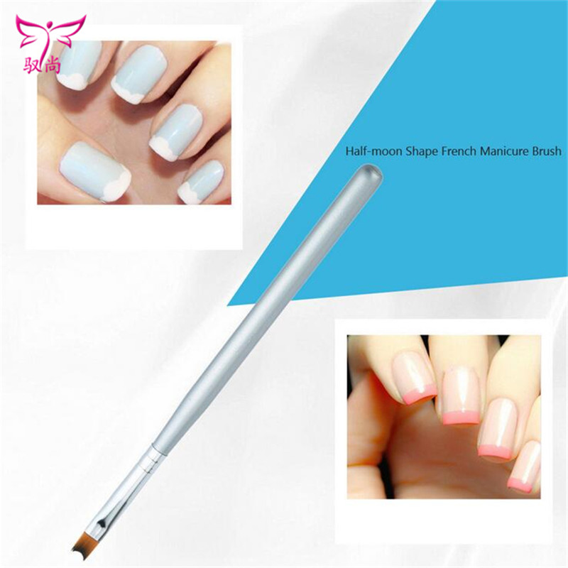 1Pcs Nail Brush Pen Acrylic UV Gel Nails Art Painting Drawing French ...