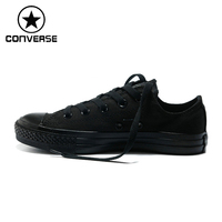 100 Orignial Converse Low Top Classic Men And Women Canvas Skateboarding Shoes Unisex Sneakser Free Shipping