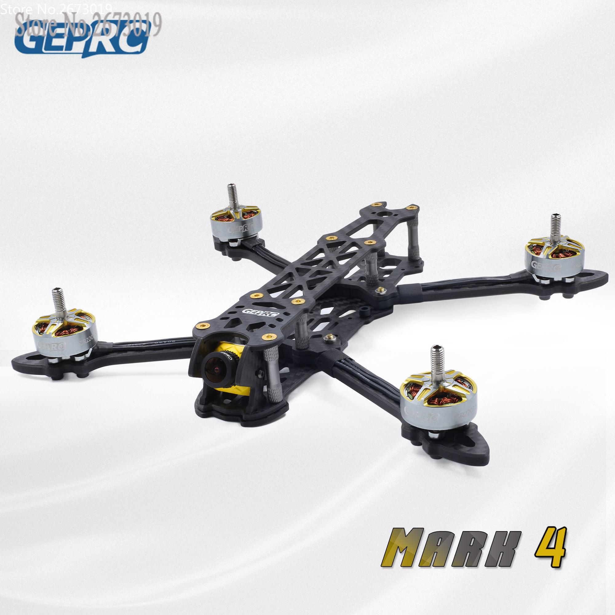 GEPRC Mark 4 FPV Racing Drone cadre Kit 5 ''/6''/7 ''cadre de moto 5mm bras avec 30.5*30.5/20*20mm trous de montage pour FC