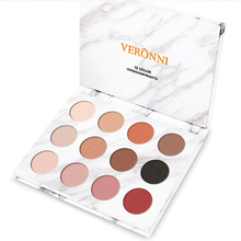 Professional 12 Colors Gliltter Marble Eyeshadow Palette 2019 New Matte eyeshadow Eye Make Up Pallete of Cosmetic Shadow