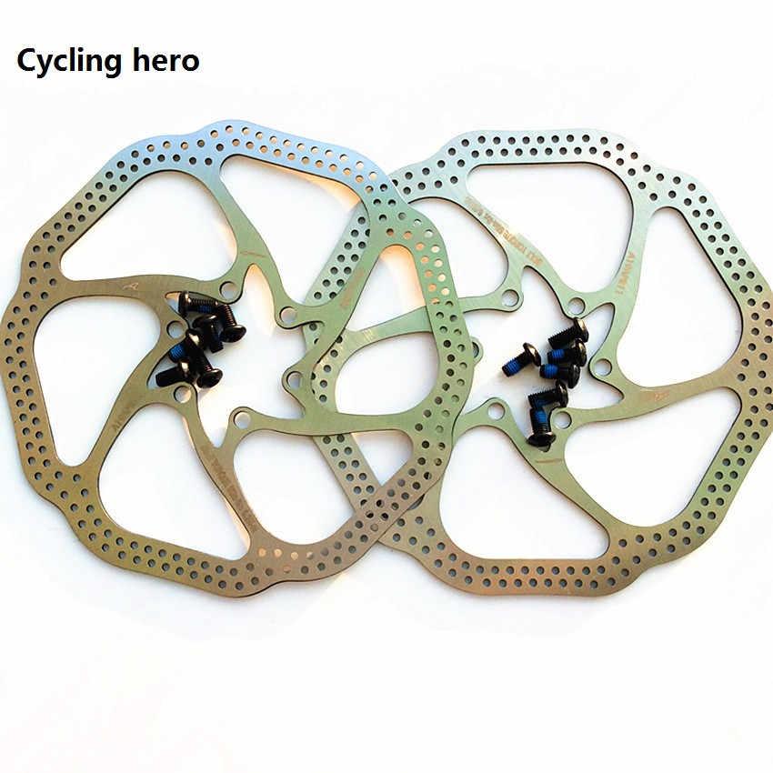 c156155325a Mountain Bike Disc Brake Rotor MTB 2PCS Quality Stainless Steel Cycling  Hero 160 / 180MM Brake
