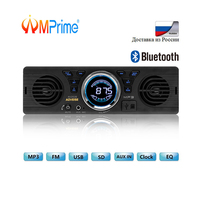 AMPrime 1din Car radio Universal 1 DIN 12V FM MP3 Bluetooth Autoradio Hands free Call Auto with loud Speaker In dash Car Stereo