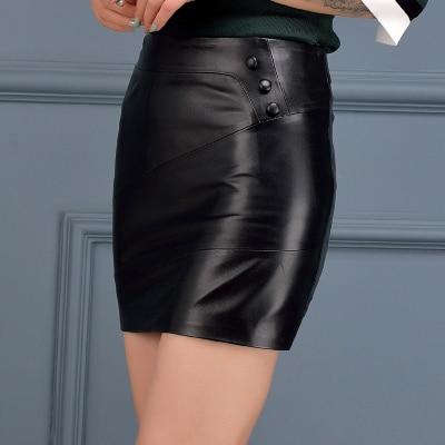 New High Waist Sheepskin Skirt High end Long Skirt in Skirts from Women 39 s Clothing