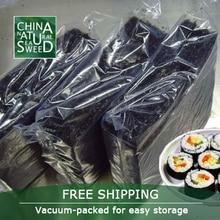 Free shipping+wholesale top quality Dry Seaweed,nori for sushi Seaweed ,100pcs,2017 top selling seaweed sushi