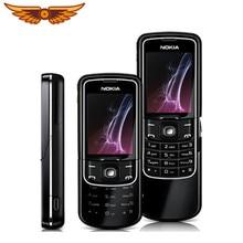 Orijinal Unlocked Nokia 8600 Luna İngilizce/rusça/arapça klavye GSM 2G FM Bluetooth kullanılan cep telefonu
