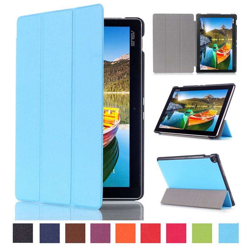 Magnet pu Leather Sleep/Wake up smart Cover Stand Case for Asus Zenpad 10 Z300 Z300C Z300CL Z300CG Tablet cases+ Stylus pen