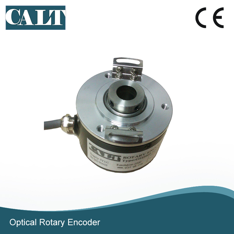 CALT GHH60 12 mm hollow shaft optical rotary encoder 500 1000 1024 2000 2500 ppr pulse