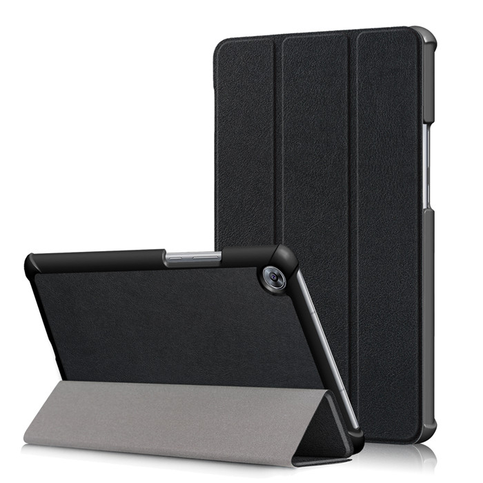 Tempered Glass Screen Protector + PU Stand Cover Case for Huawei Mediapad M5 8.4 SHT-AL09 SHT-W09 8.4 Tablet