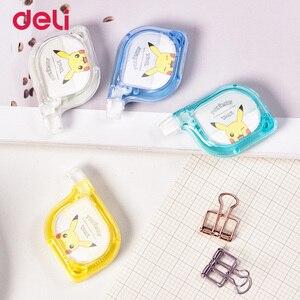 Deli Pikachu 6 M Korrektur Band 3 stücke Student Geändert Band Transparent Korrektur Band Büro Schreibwaren Liefert Großhandel