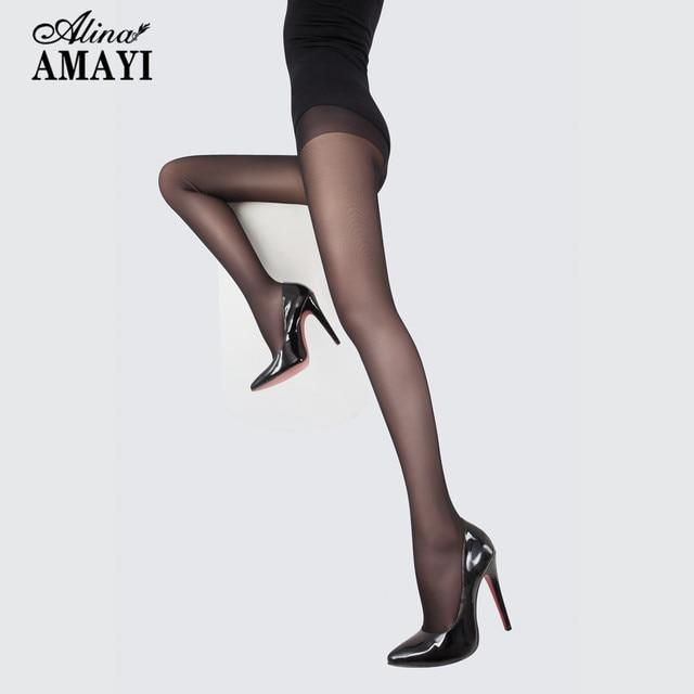 a24605724e6 3Pcs Lot Semi Transparent 20D Seamless Pantyhose Women s Stockings  Ultrathin Female Tights