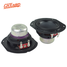 Ghxamp 2 inch Neodymium Full Frequency Speaker 4ohm 10W Large Stroke Bluetooth Speaker DIY 2.0 Desktop 2.1 Satellite Box 2PCS
