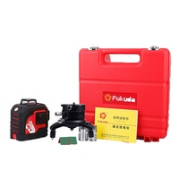 Fukuda 12 Lines 3D Laser Level Self Leveling 360 Horizontal And Vertical Cross Super Powerful Red