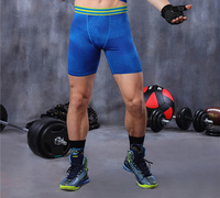 Men Compression Shorts Base Layer Tight Underwear Boxers Running Box Exercise Fitness Gym Football Training Basketball