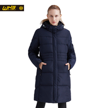 WHS Women thick thermal jacket Winter outdoor long cotton coats female warm parkas hiking clothes windproof jackets ladies coat