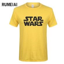 RUMEIAI New brand Summer Men's t shirt Casual Star Wars T-Shirt The Darth Face Print T Shirt Short Sleeve Tees Hip Hop Tops