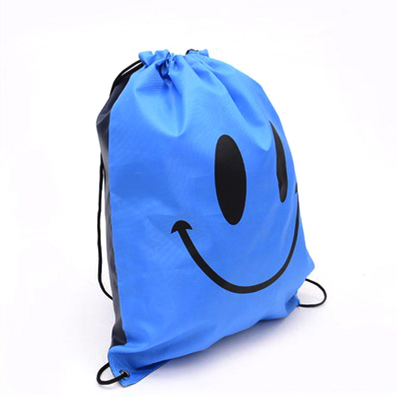 Outdoor Portable Storage Bag Solid Bags Drawstring Backpack Swimming Gym Sports Bag school bags Travel Waterproof GHMY