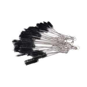 Image 1 - Tattoo Supplies 5 Pcs/lot Machine Tube Tip Cleaning Brush Needle Tip Brushes Set Tools Women Beauty Tool Supply Hot Sale